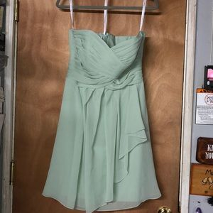 Strapless Bridesmaid/Prom Dress